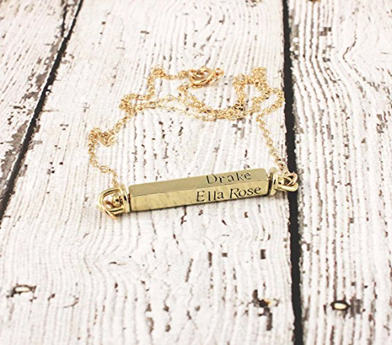 hand-made-stamped-mother's-day-gold-bar-necklace